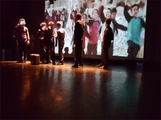 Krieg&Frieden fann to see premiere 029